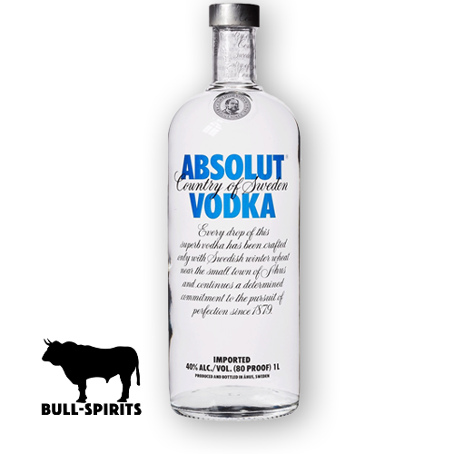 Absolut Vodka 1,0Liter Flasche