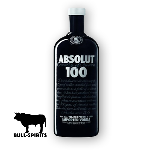 Absolut Vodka 100 Black
