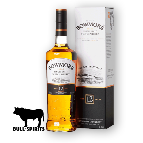 Bowmore Single Malt Scotch Whiskey