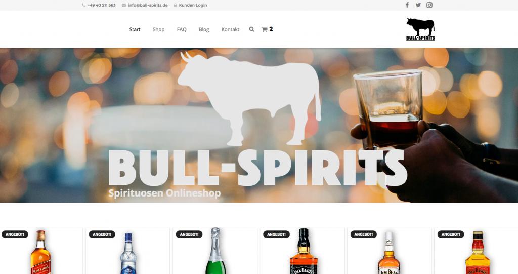 Bull Spirits Startseite