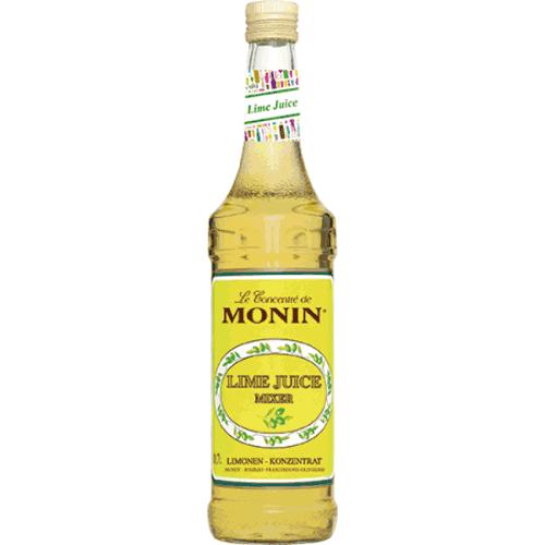 Monin Lime Juice Cordial - Bar Mixer 0,7l